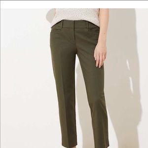 LOFT green pants